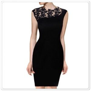 Dresses & Skirts - Elegant Stretch Bodycon cocktail Dress